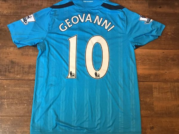 2009 2010 Hull City Geovanni Player Issue Away Football Shirt Large